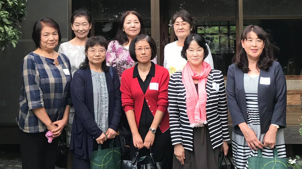 2017年9月 女性部会ランチ会